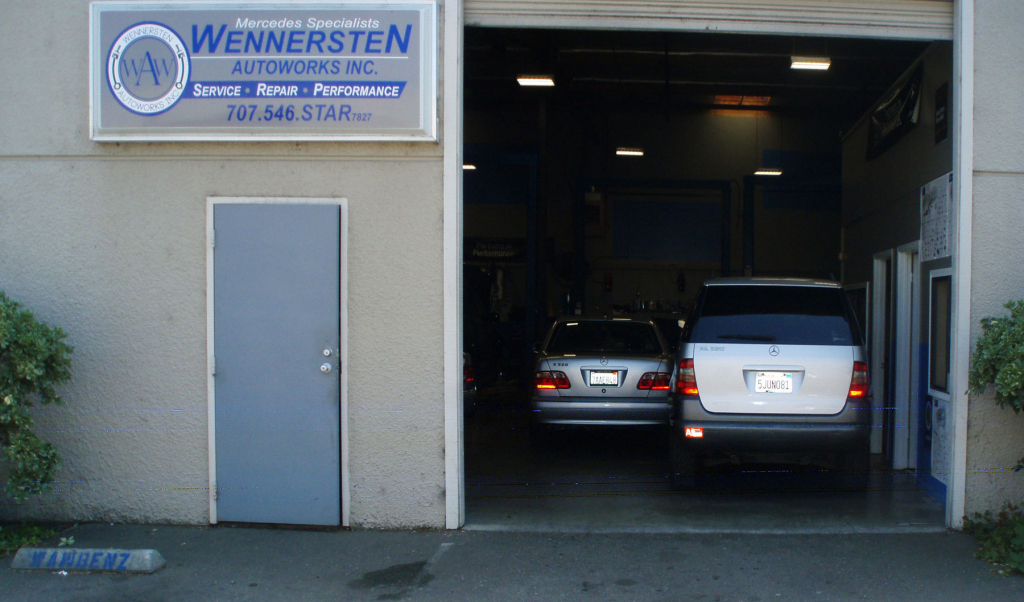 Wennersten Autoworks, Santa Rosa, Mercedes, auto repair car shop